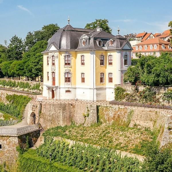 Dornburg Rokokoschloss am Weinhang