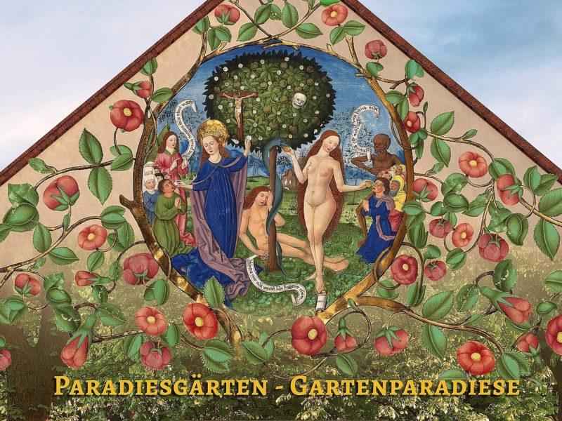 Motiv der Ausstellung Paradiesgärten-Gartenparadiese