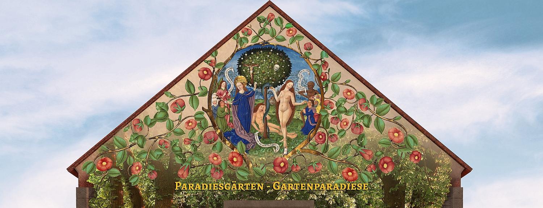 Ausstellungsmotiv von Paradiesgärten-Gartenparadiese