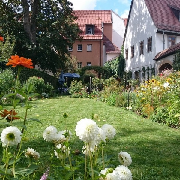 Biedermeiergarten am Kirms-Krackow-Haus