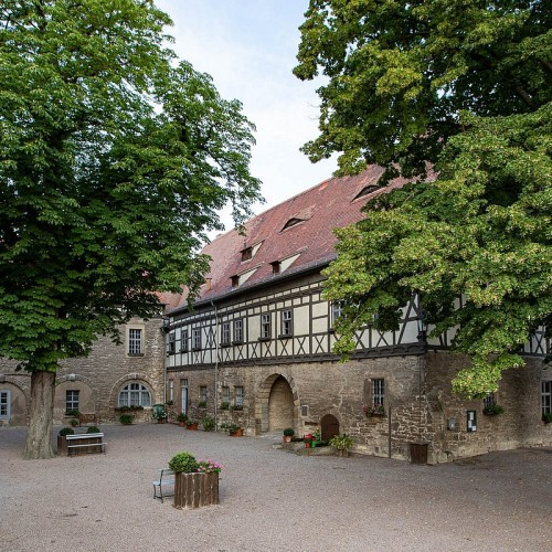 Burg Weißensee mit Burginnenhof