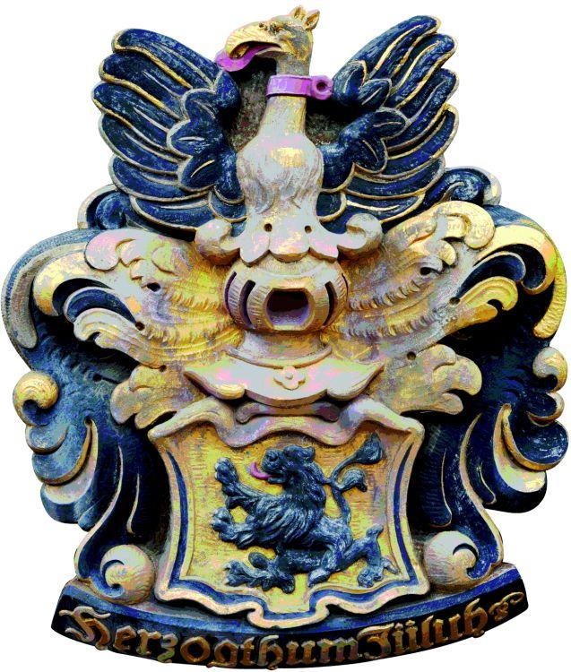 Wappenkopie Herzogtum Jülich