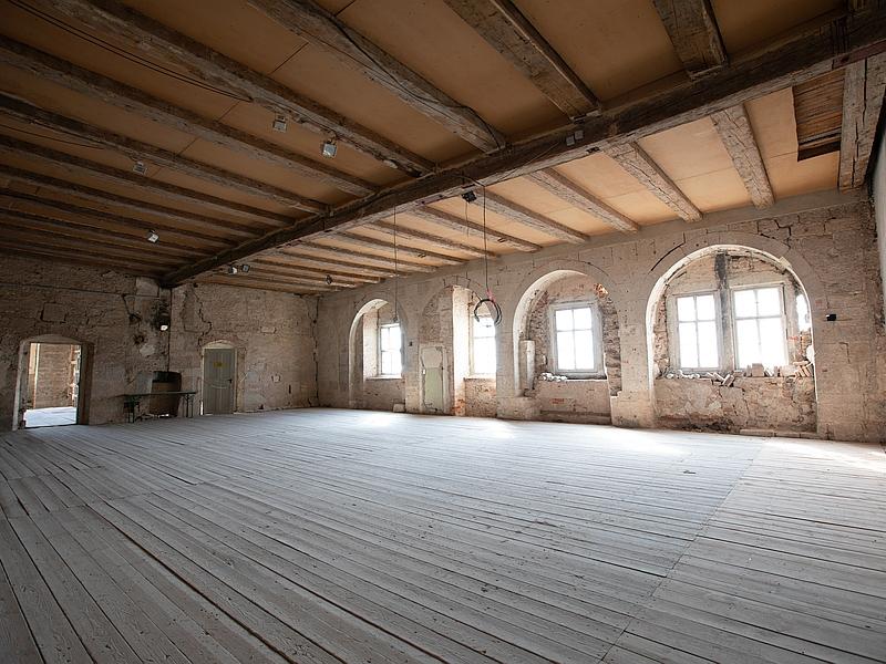 Weißensee, Burg Weißensee/Runneburg, Festsaal
