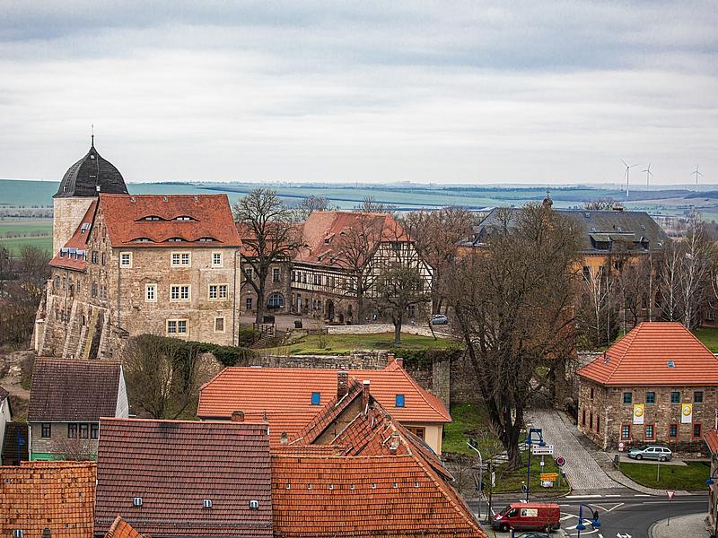 Burg Weissensee im Februar 2020